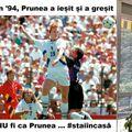 Florin Prunea în meciul contra Suediei de la CM din 1994