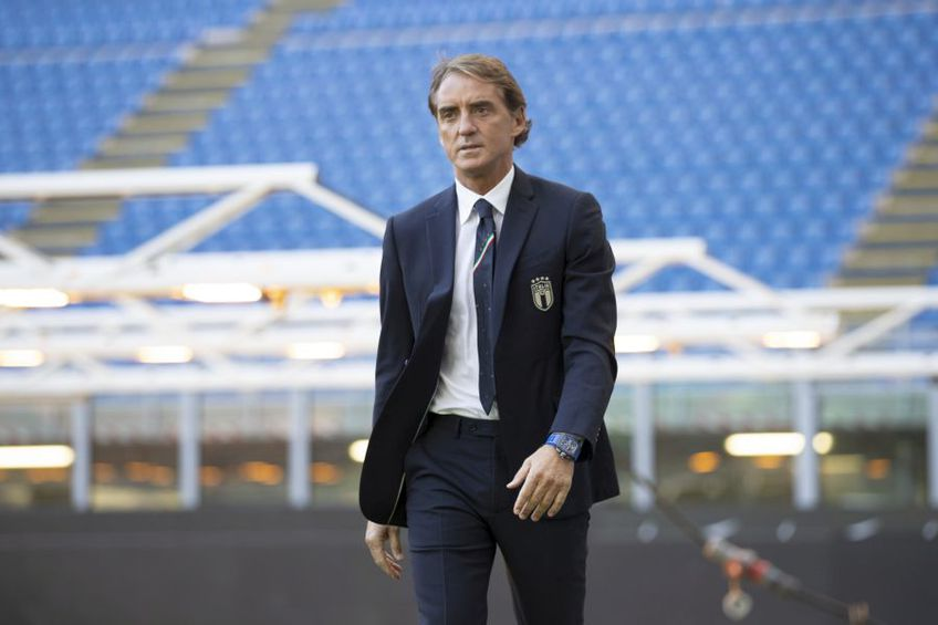 Roberto Mancini, selecționer Italia