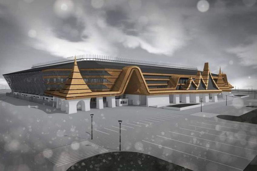 Așa va arăta Arena din Sf. Gheorghe