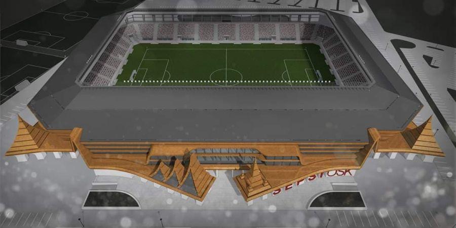 Arenă de grupele Europa League în Liga 1 » Cum va arăta noul stadion al lui Sepsi Sf. Gheorghe