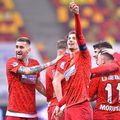 FCSB a avut o prestație perfectă cu CFR Cluj //  Foto: FCSB