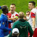 Scandalul iscat în Rangers - Slavia Praga // foto: Imago
