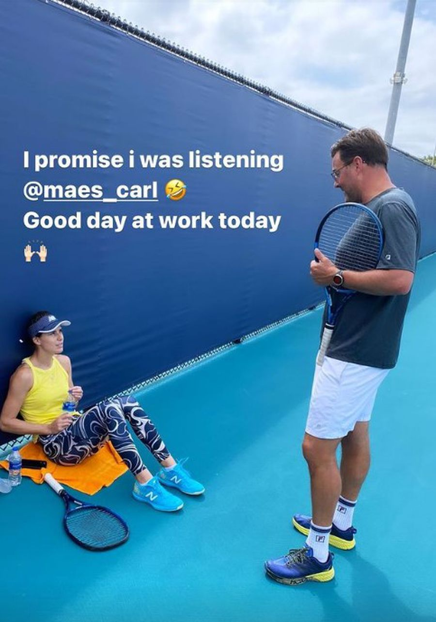 Sorana Cîrstea, alături de Carl Maes la Miami