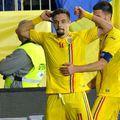 Adrian Petre (23 de ani) și Mihai Eșanu (22 de ani) au susținut o conferință de presă, cu 48 de ore înaintea debutului la Campionatul European U21.