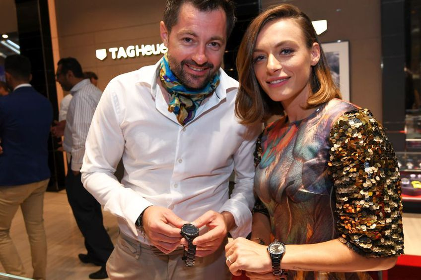 Ana Bogdan și Norris Măgeanu, la un eveniment din Australia, în anul 2019. foto: Guliver/Getty Images