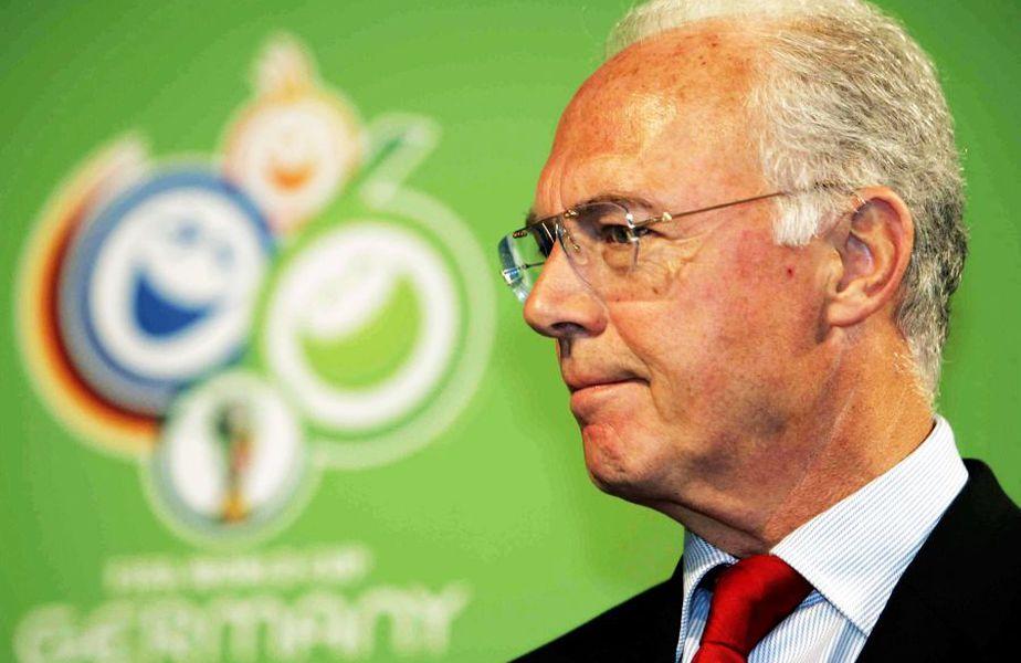 Franz Beckenbauer a fost intermediarul celor 6,7 milioane de euro. foto: Guliver/Getty Images