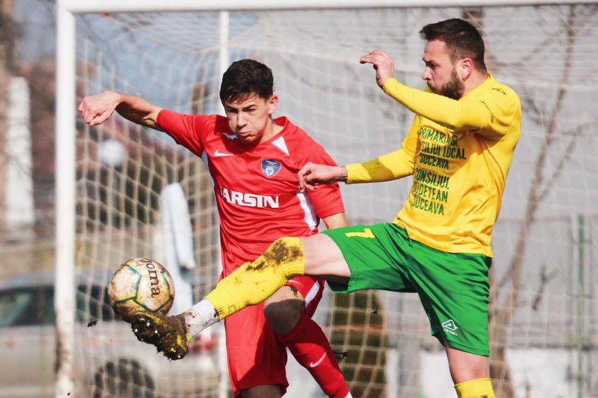 """Bucovina și Foresta au jucat """"pe bune"""" și au remizat, 1-1 FOTO Cristian Plosceac"""