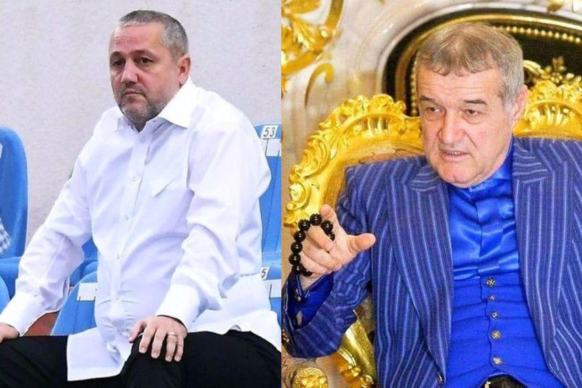 Mihai Rotaru și Gigi Becali