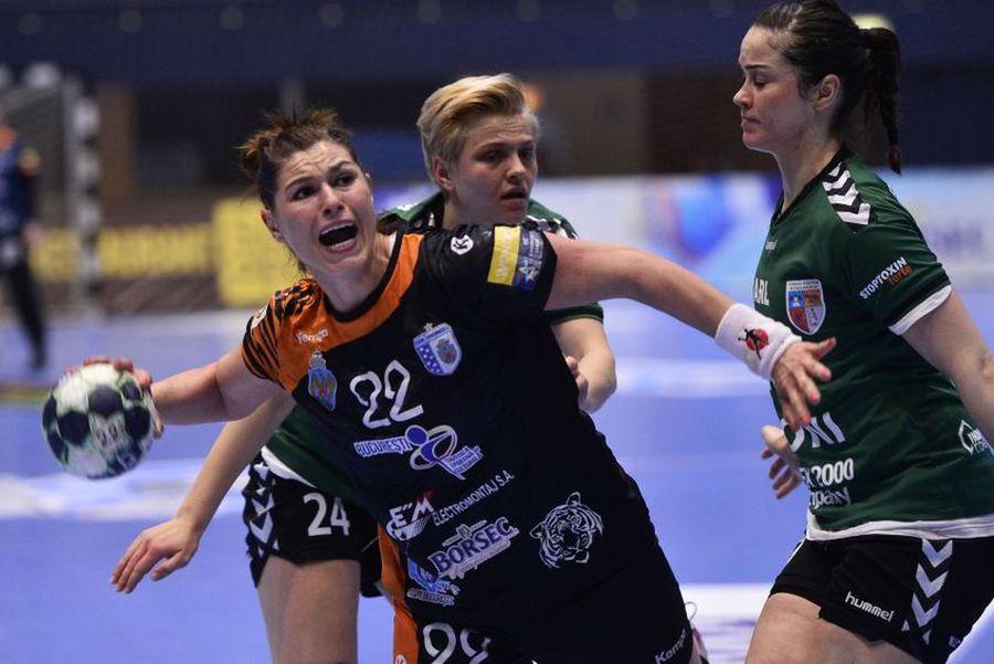 Oana Manea a evoluat în perioada 2014-2019 pentru CSM București