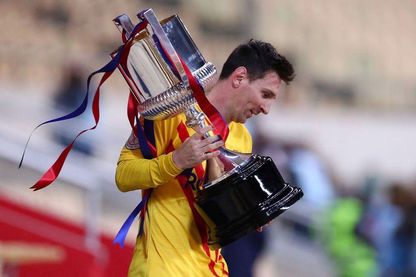 Barcelona și-a trecut în palmares a 31-a Cupă a Regelui Spaniei! Catalanii i-au învins în finală pe cei de la Athletic Bilbao, scor 4-0