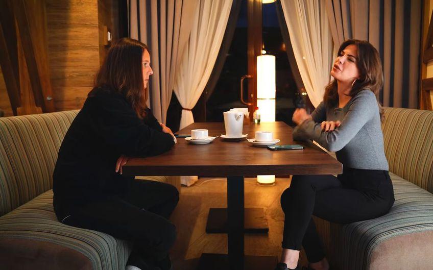 Daria Kasatkina și  Sofia Tartakova
