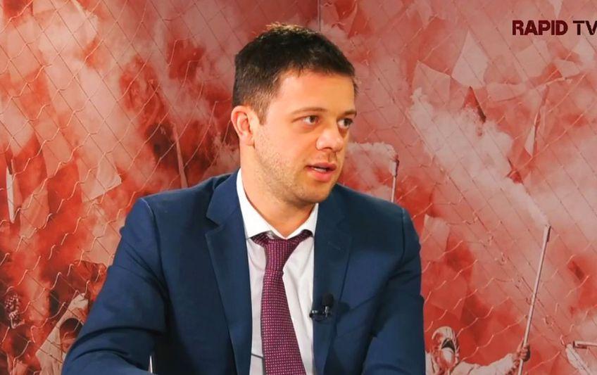 Victor Angelescu, principalul acționar al Rapidului, a lămurit situația lui Daniel Niculae (38 de ani).