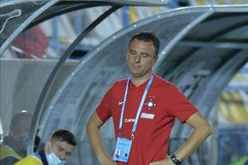"""""""Sacrificat"""" cu 7 minute înainte de pauza meciului Clinceni - FCSB!"""