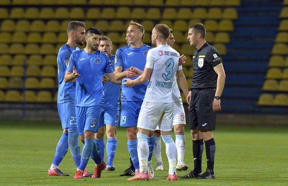"""Ilie Poenaru nu și-a menajat jucătorii după Clinceni - FCSB: """"Au fost greșeli personale și lipsă de atitudine"""""""