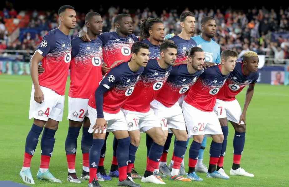 Lille a participat în actualul sezon al Ligii Campionilor // sursă foto: Guliver/gettyimages