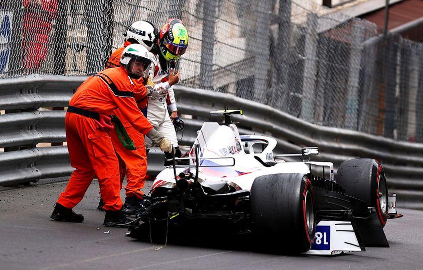 Germanul Mick Schumacher (22 de ani), pilotul echipei Haas, a fost protagonistul unui accident, sâmbătă dimineață, în antrenamentele de la Monaco.