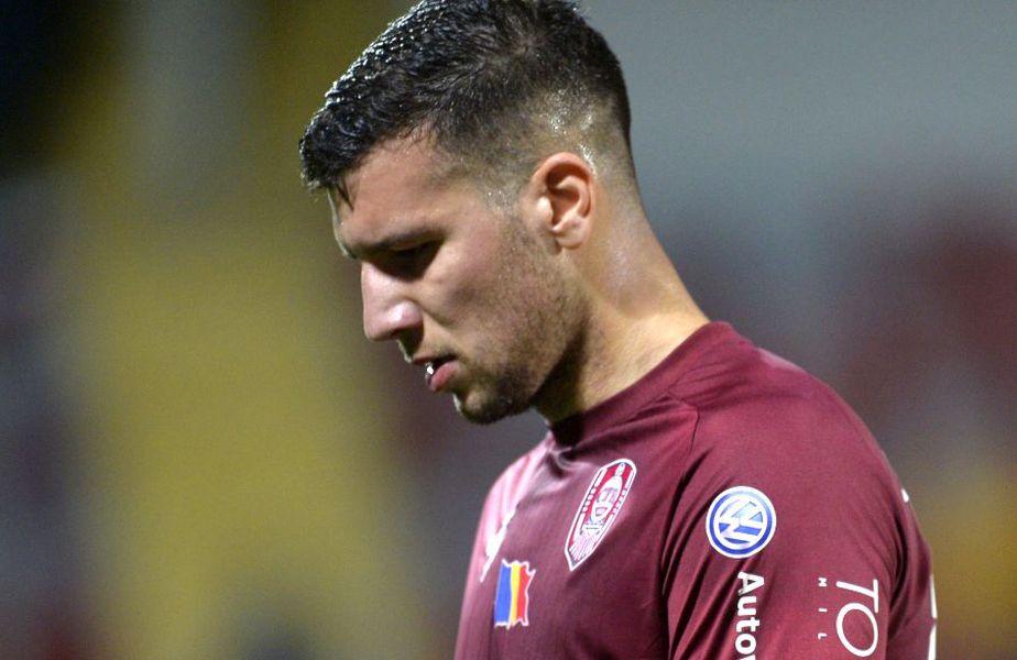 George Țucudean va pleca de la CFR Cluj