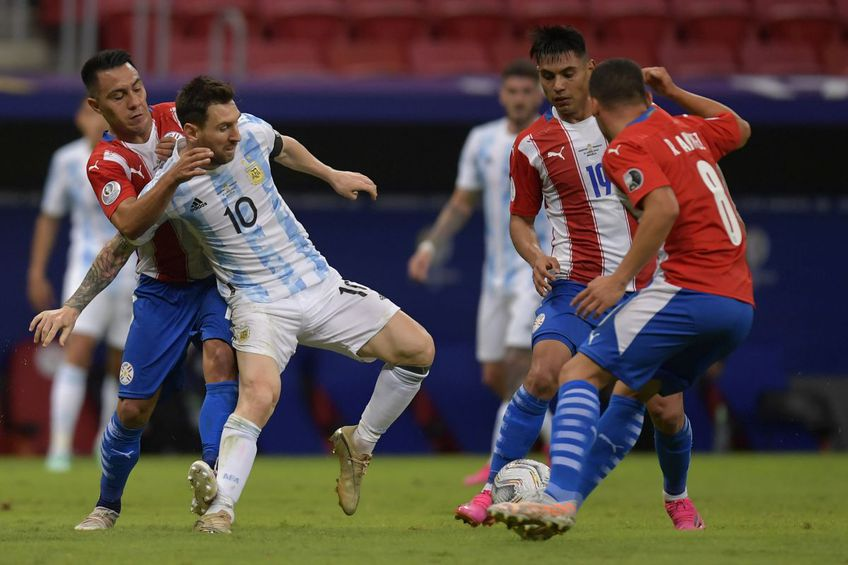 Argentina - Paraguay 1-0 // foto: Guliver/gettyimages
