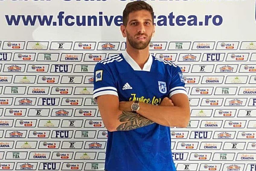 Dominik Kovacic, transferat de FCU Craiova // foto: Facebook