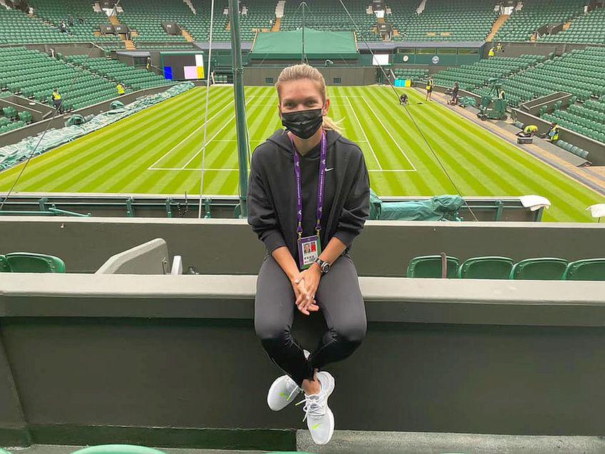 Simona Halep e campioana de la Wimbledon