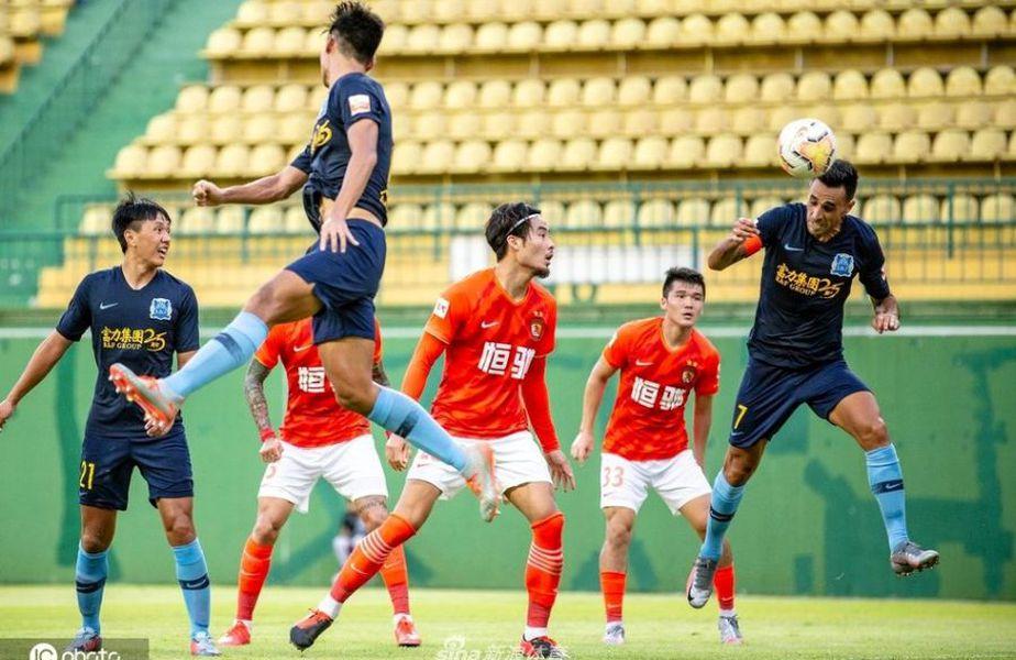 Guangzhou Evergrade - Shanghai Shenhua va fi primul meci disputat în China după revenirea fotbalului // foto: Facebook @ Guangzhou Evergrande FC