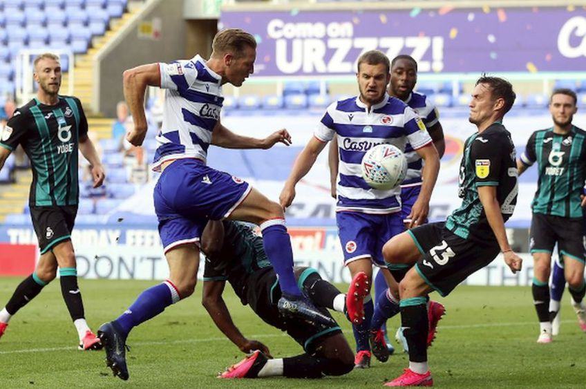 George Pușcaș a marcat în Reading - Swansea 1-4 // foto: reading.co.uk