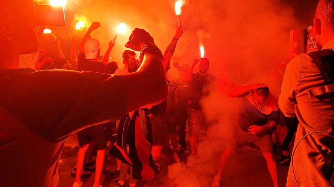 FCSB sărbătorește cu fanii