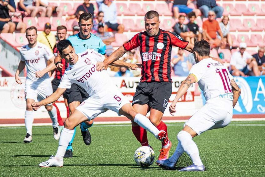 Lincoln Red Imps - CFR Cluj // foto: Facebook @ cfr1907