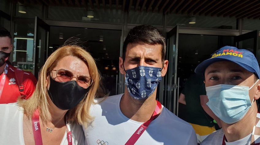 Elisabeta Lipă și Mihai Covaliu îl încadrează pe Novak Djokovic