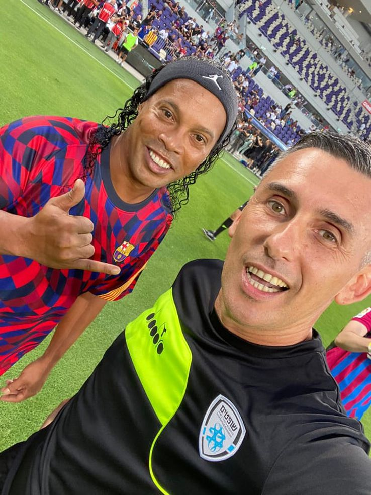 Dan Ucenic și Ronaldinho