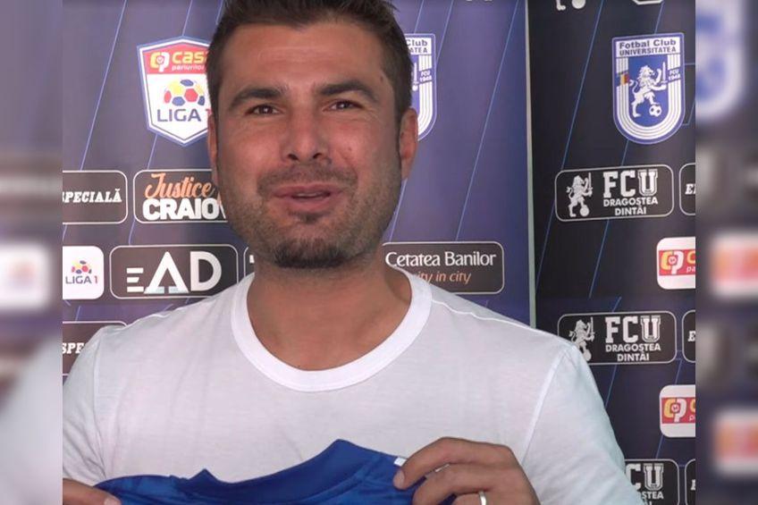 """Moment special pentru Adrian Mutu la FCU Craiova - Dinamo: """"E prima oară"""""""