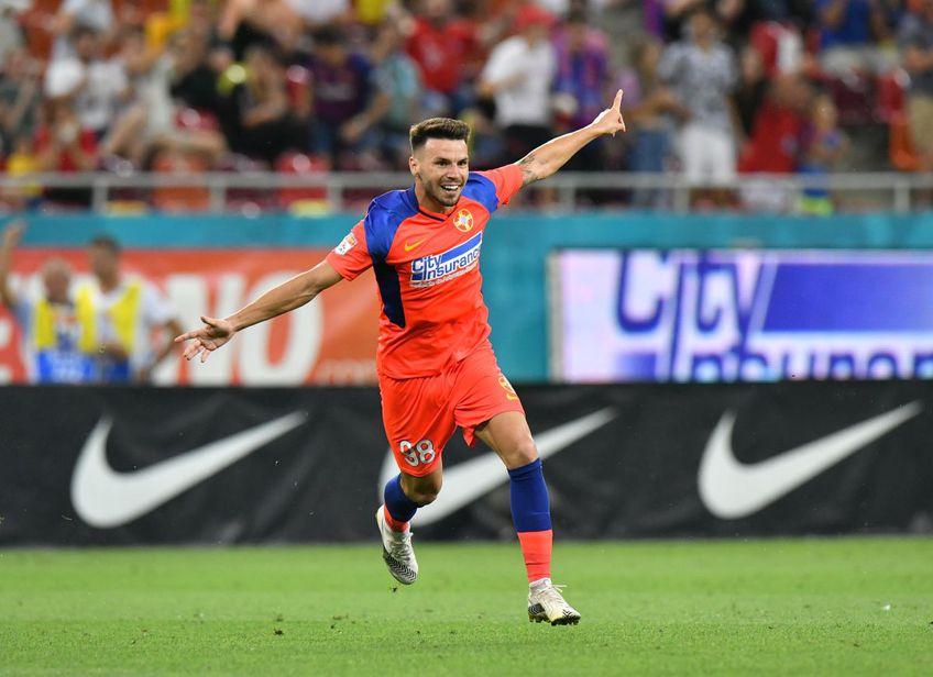 FCSB a învins-o pe Șahtior Karagandy (Kazahstan), scor 1-0, în prima manșă a turul doi preliminar din Conference League.