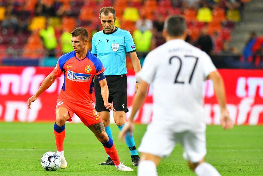 FCSB a învins-o pe Șahtior Karagandy (Kazahstan), scor 1-0, în prima manșă a turului doi preliminar din Conference League. Florin Tănase (26 de ani) a analizat victoria de pe Arena Națională.