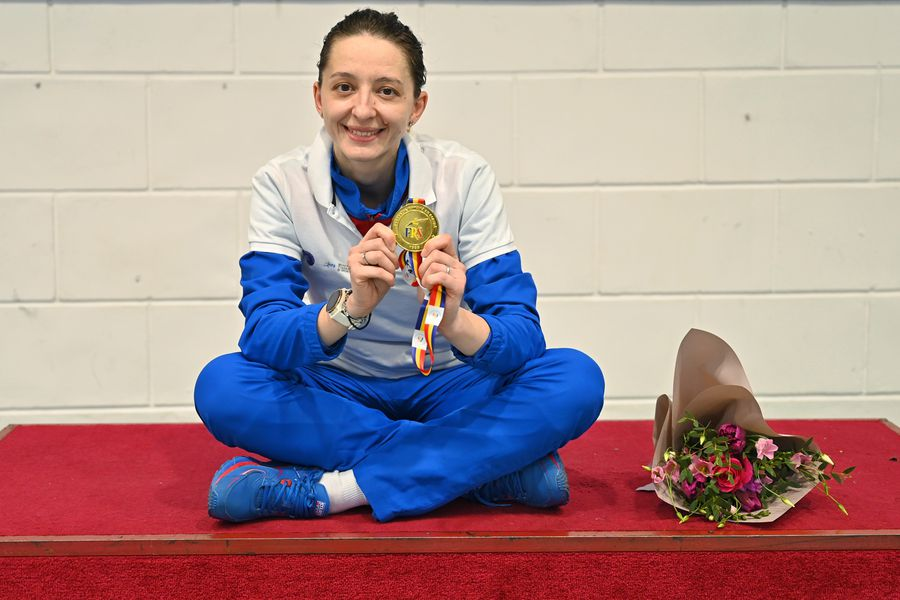 Jurnal de campioană olimpică » Spadasina Ana Maria Popescu s-a lăsat urmărită de GSP timp de un an