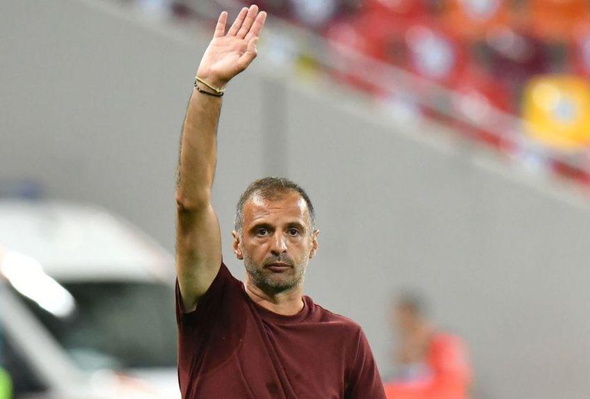 Dinu Todoran, 42 de ani, antrenorul FCSB, a evitat să vorbească despre problemele mari pe care le-a avut vicecampioana în prima manșă din turul II preliminar Conference League, cu Șahtior Karagandy, 1-0.