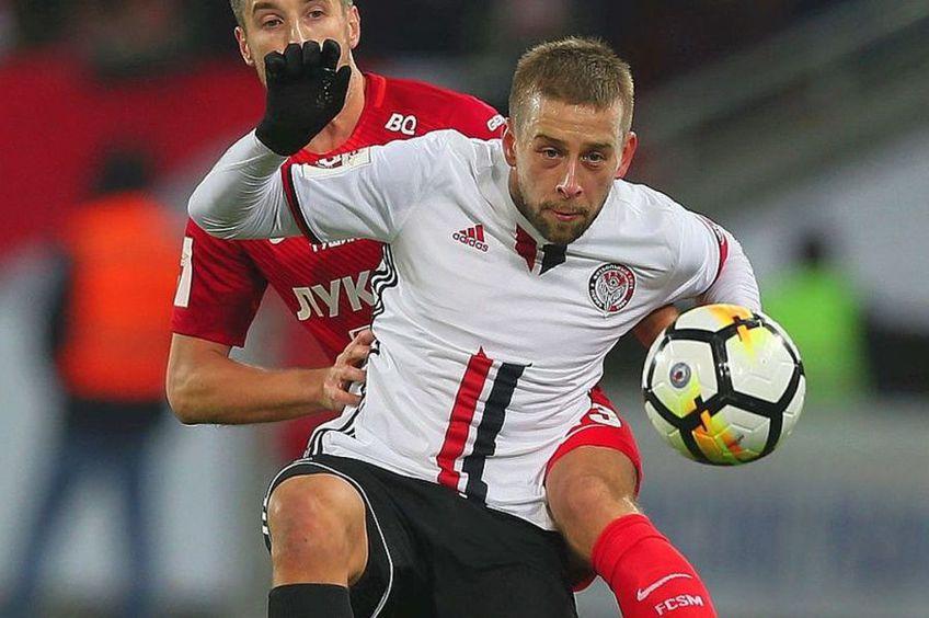 Gol (alb) a mai evoluat pentru Belchatow, Legia Varșovia, Amkar Perm și KS Cracovia