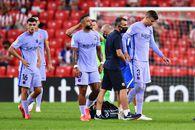 Probleme pentru Barcelona: Gerard Pique s-a accidentat, celălalt stoper titular este suspendat