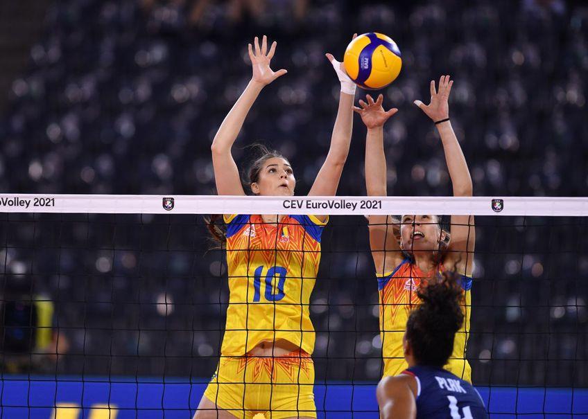 Denisa Ionescu (10), centrul naționalei, spune că echipa României trebuie să fie mai constantă, să joace așa cum a făcut-o cu Turcia și Olanda pentru a avea șansă la calificare.