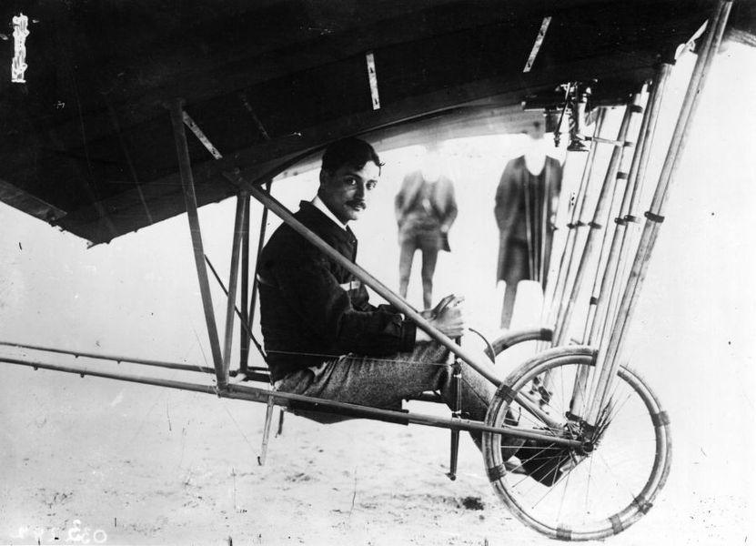 Roland Garros - pilotul