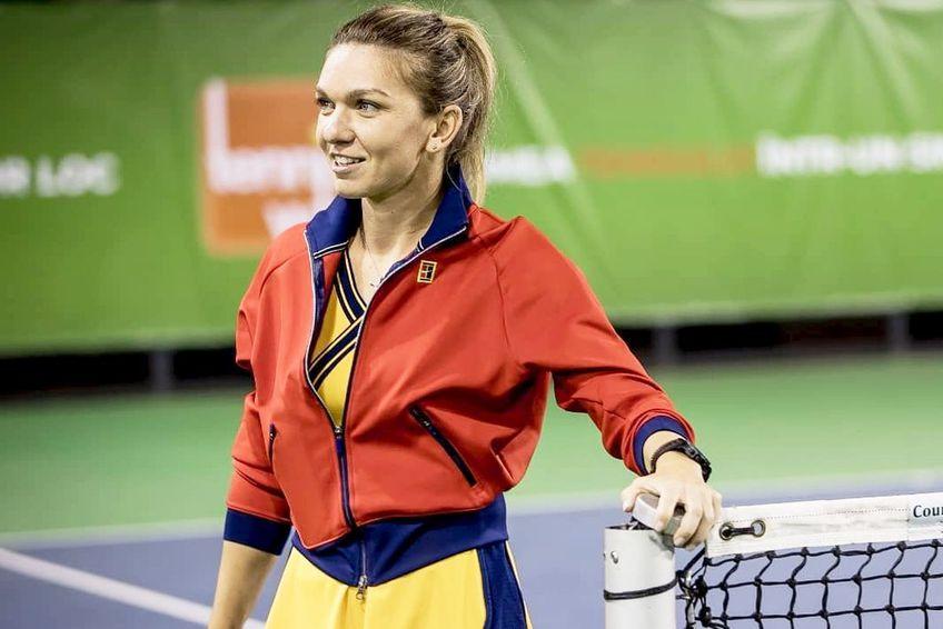 Simona Halep // foto: Instagram @ tenniswin_social_marketplace