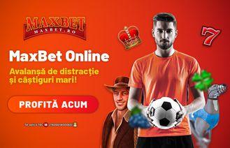 MaxBet Casino - Avalanșă de distracție și câștiguri mari!