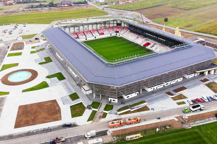 Noul stadion al clubului Sepsi OSK Sf. Gheorghe // foto: Facebook @ Sepsi OSK