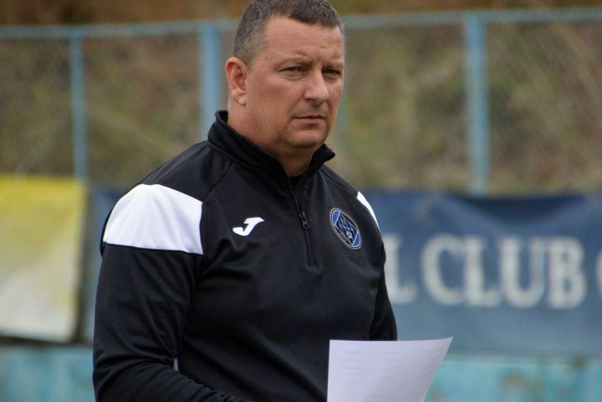 Ionuț Chirilă a debutat cu un eșec pe banca noii echipe / Sursă foto: Facebook Academica Clinceni