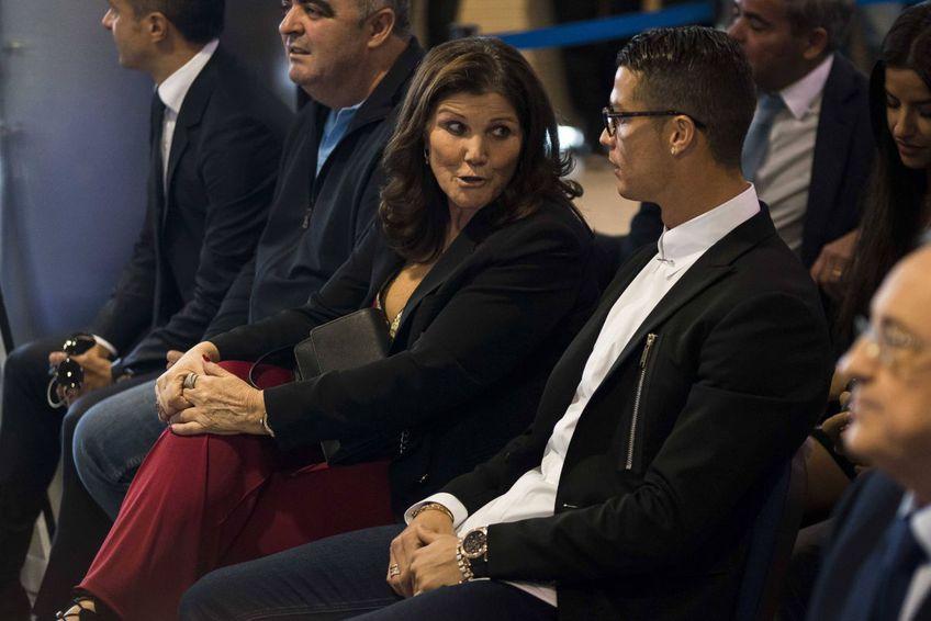 Cristiano Ronaldo și mama sa, Dolores Aveiro Foto: Imago