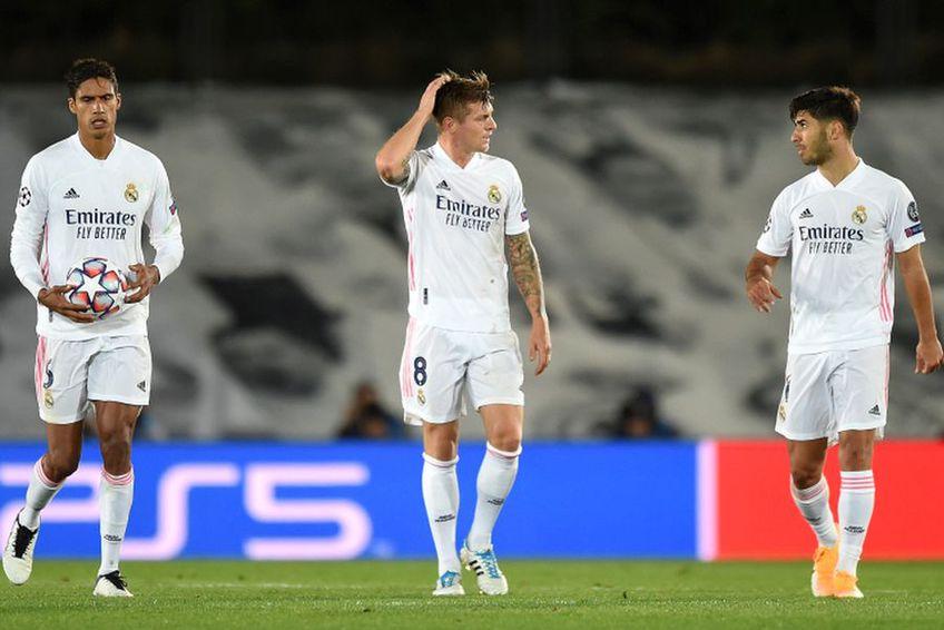 Real Madrid a fost învinsă de Shakhtar, 2-3 în Liga Campionilor // foto: Guliver//gettyimages