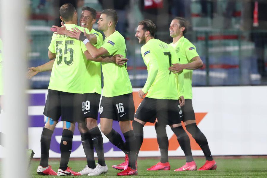 ȚSKA Sofia - CFR Cluj, Europa League / FOTO: Sportal.bg