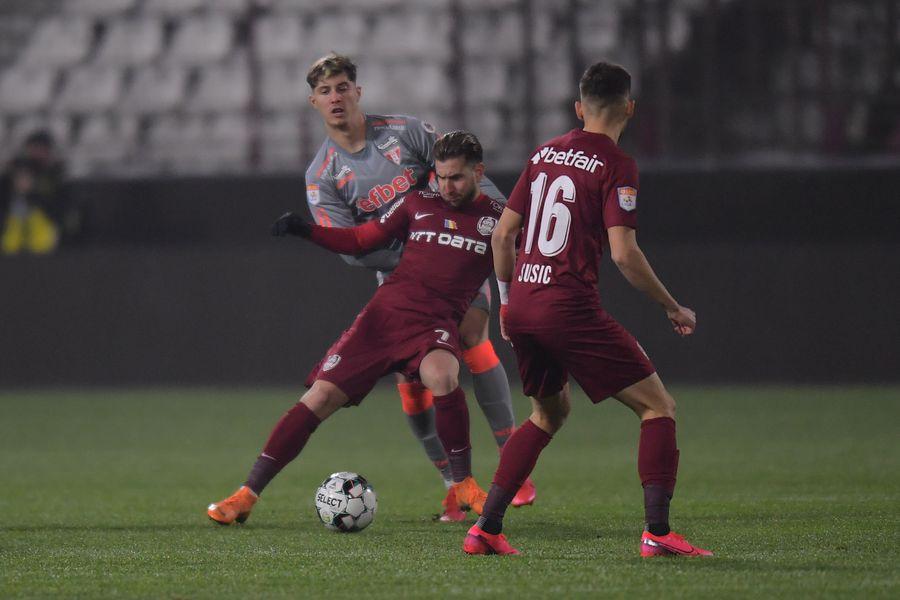 CFR Cluj - UTA (22 noiembrie 2020)