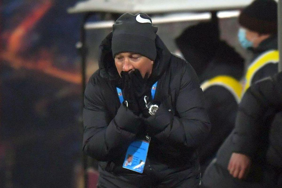 """CFR Cluj - UTA 0-1. Dan Petrescu a mai pățit o singură dată așa ceva în carieră: """"E alarmant!"""""""