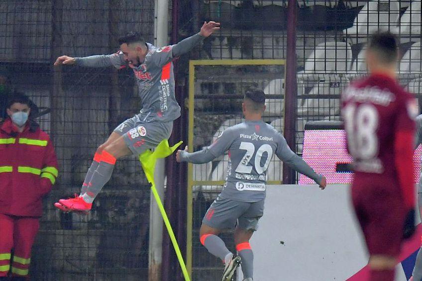 CFR Cluj a pierdut pe teren propriu cu UTA, scor 0-1. Ioan Hora, marcatorul singurului gol al partidei, a tras concluziile la final.