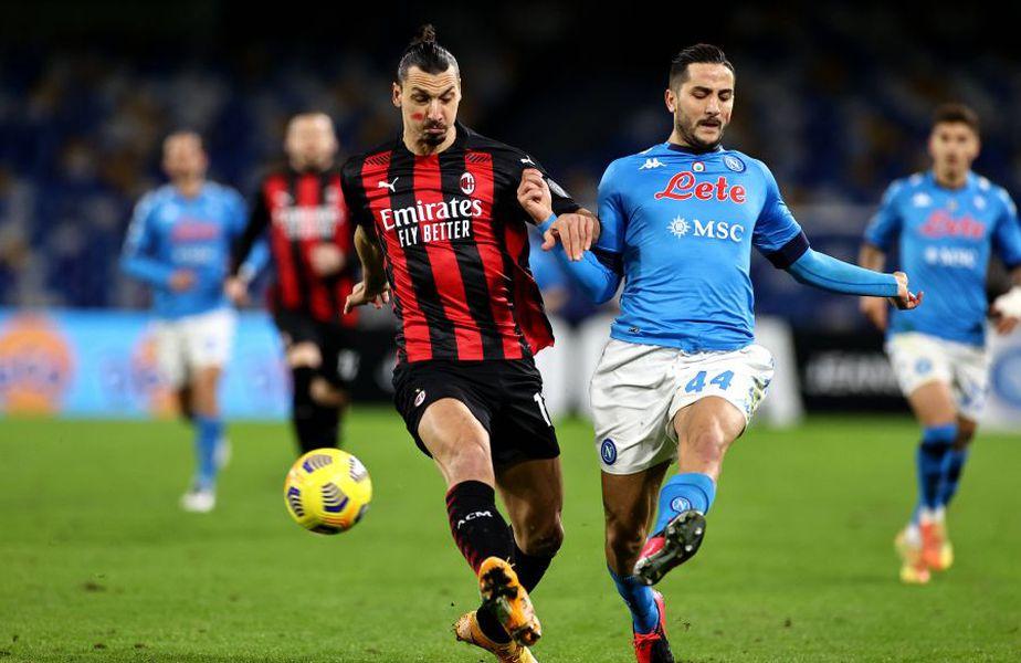 Napoli - AC Milan în Serie A, LIVE pe GSP.ro // FOTO: IMAGO